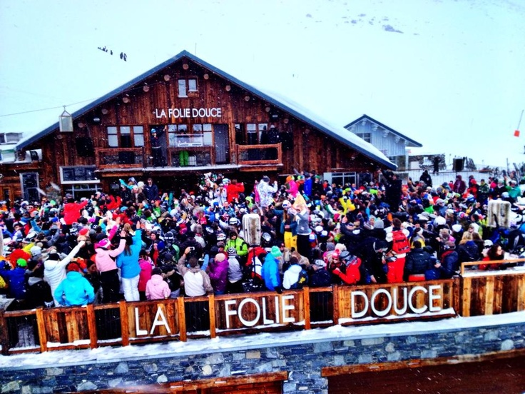 Bar La Folie Douce à Val Thorens